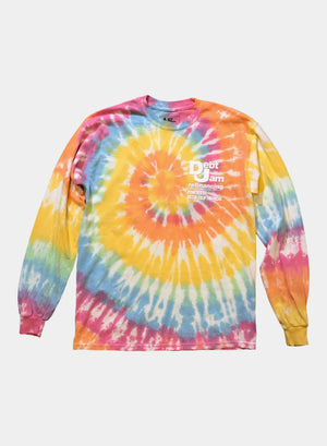 "Debt Jam Refinancing Long Sleeves - ""Grateful Debt"" Tie Dye"