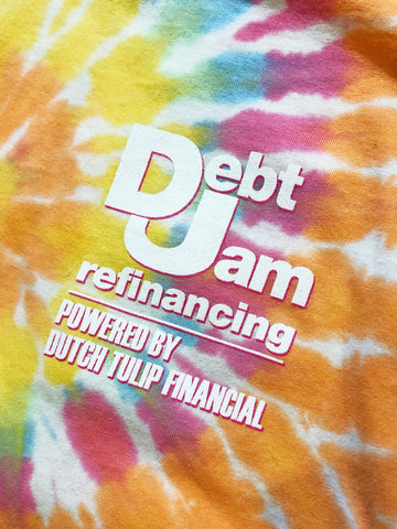 Debt Jam Refinancing Long Sleeves - Tie Dye
