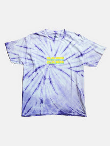 Same Gang Tee - Purple Tie Dye