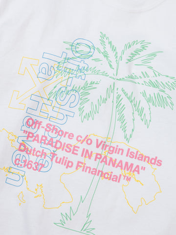 Off-Shore Tee - White