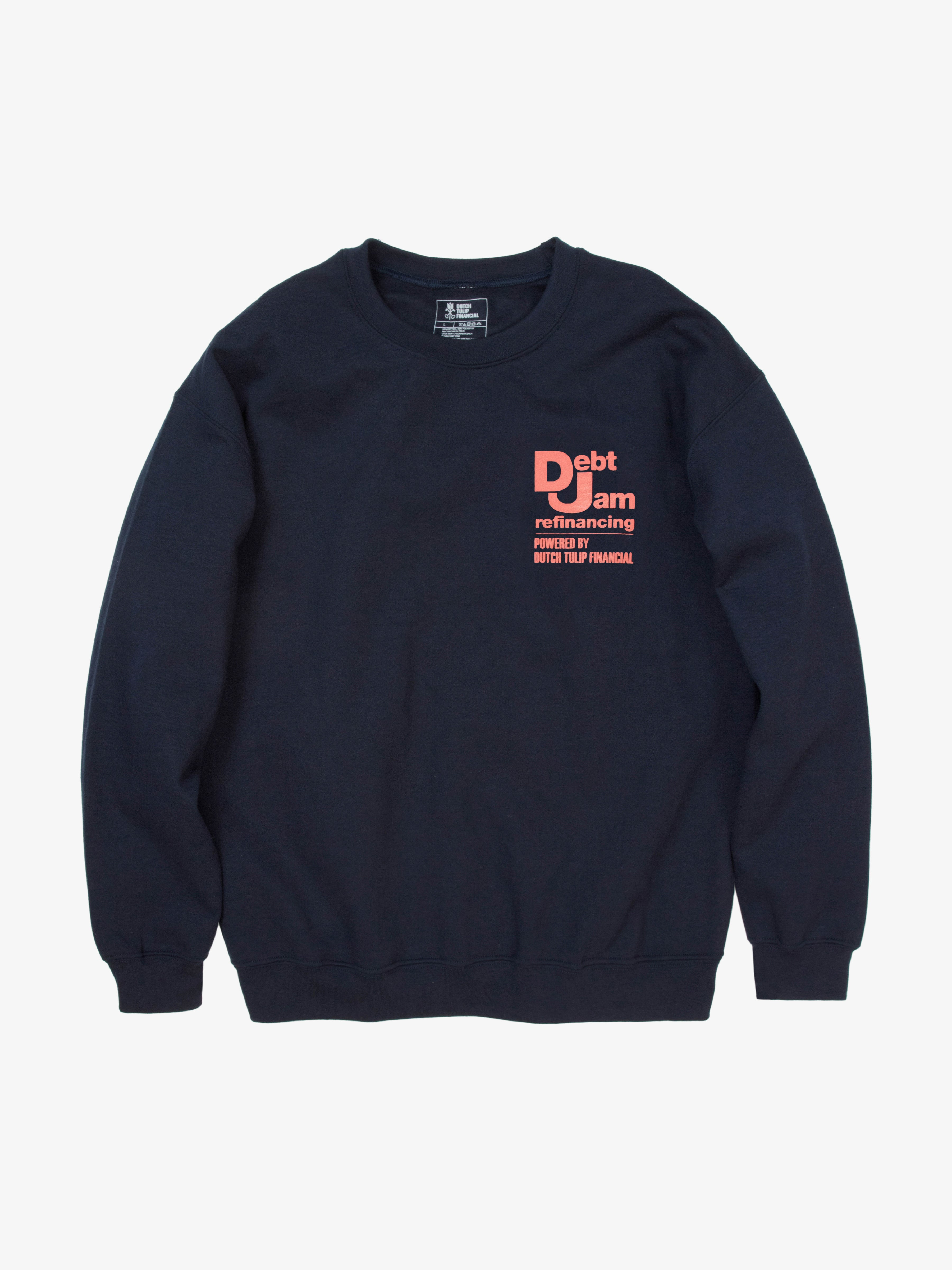 Debt Jam Refinancing Sweatshirt - Navy
