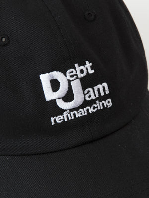 Debt Jam Refinancing cap - Black