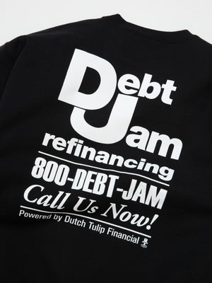 Debt Jam Refinancing Sweatshirt - Black