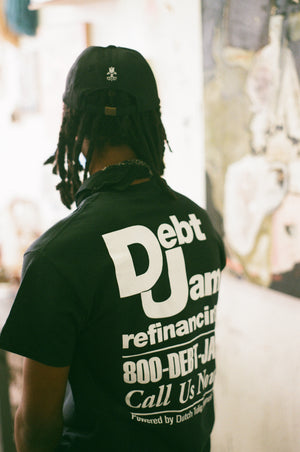 Debt Jam Refinancing Tee - Black