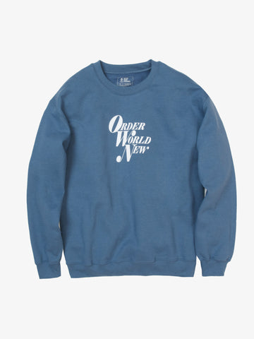 Order World New Sweatshirt - Blue