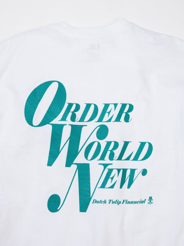 Order World New Tee - White