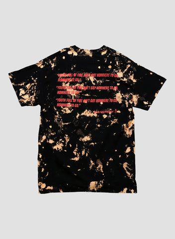 Gasoline Dreams Tee - Fire & Brimstone Edition
