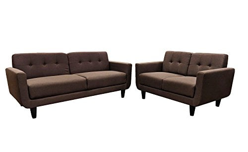 Pleasing Winpex Mid Century Modern Style Sofa Set 3 Seater And Bralicious Painted Fabric Chair Ideas Braliciousco