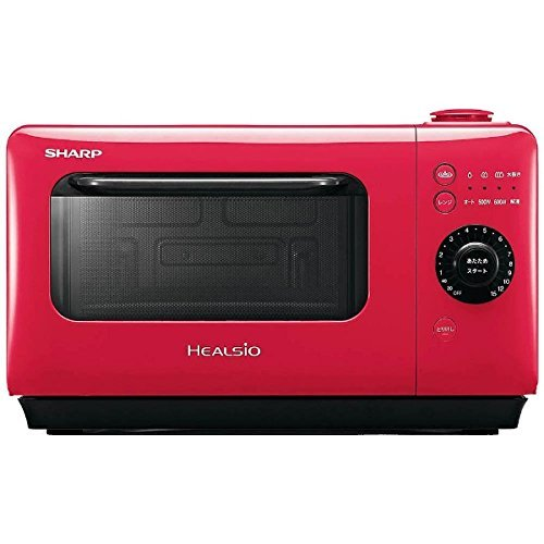 780ab333758ce6 A SHARP Water Microwave Oven HEALSiO Gurierange AX-HR2-R (RED)