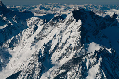 NORTHEAST RIDGE OF MT MORAN