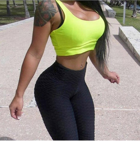 2018  High-Waist, Anti Cellulite Leggings