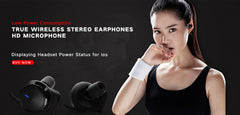 Wireless Waterproof Sports Earbuds