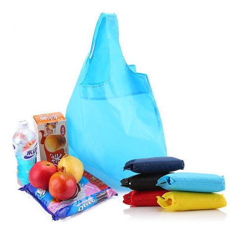 Nylon Shopping Bags - 5pc/Set