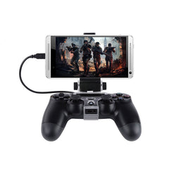 For ALL The Gaming Fans That Are On The Run! - Smart Phone PS4 Controller Mount