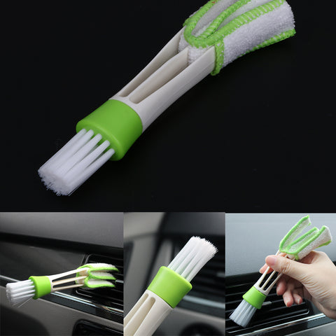 Double Ended Fine Detailing Brush - Car Interior/Keyboard