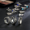 Image of Retro 13pcs Boho Ring Set