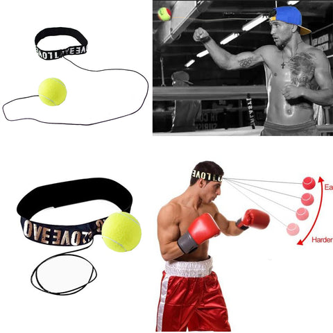Training Fight Ball - With Headband