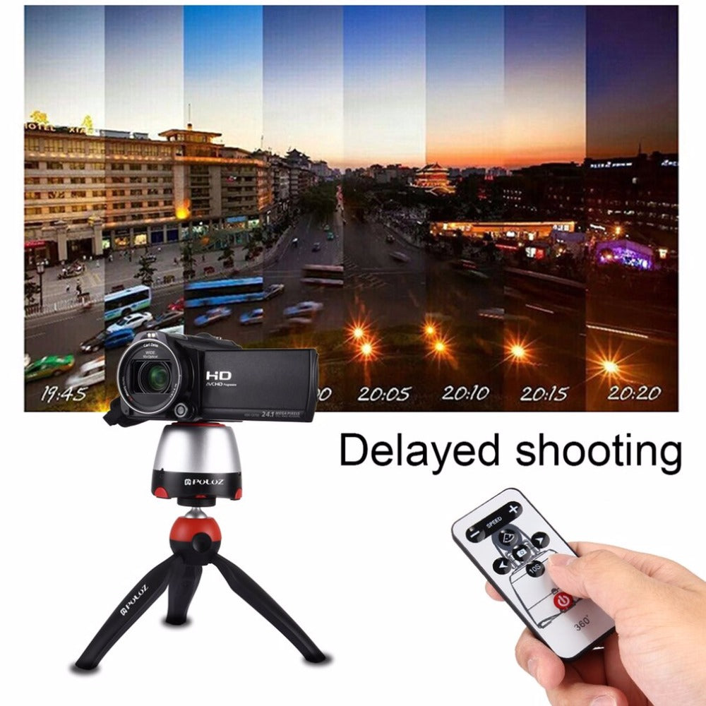 Remote Control Phone/Camera/GoPro Tripod.【Professional Photos Everytime!】