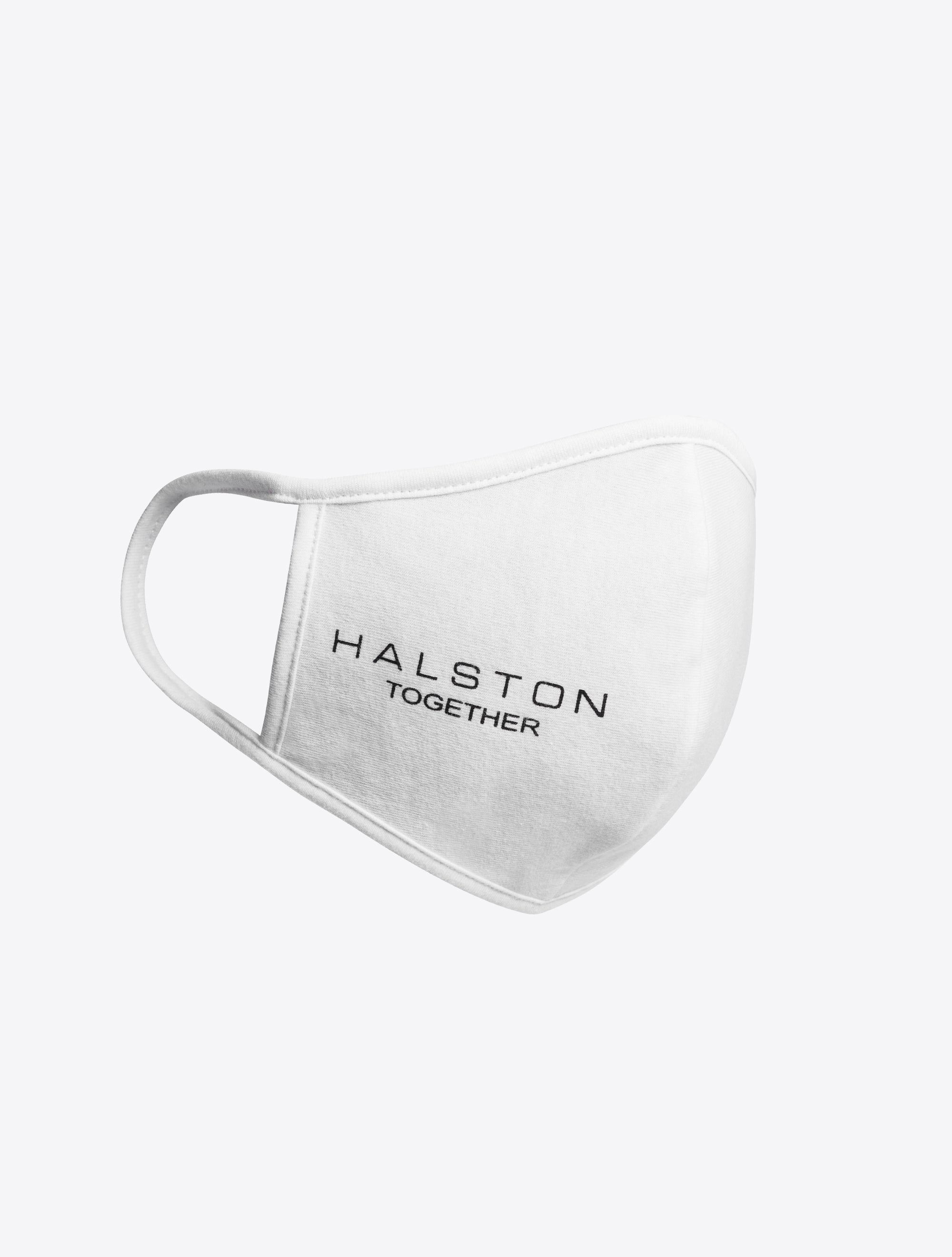 Halston Together Facemask - White
