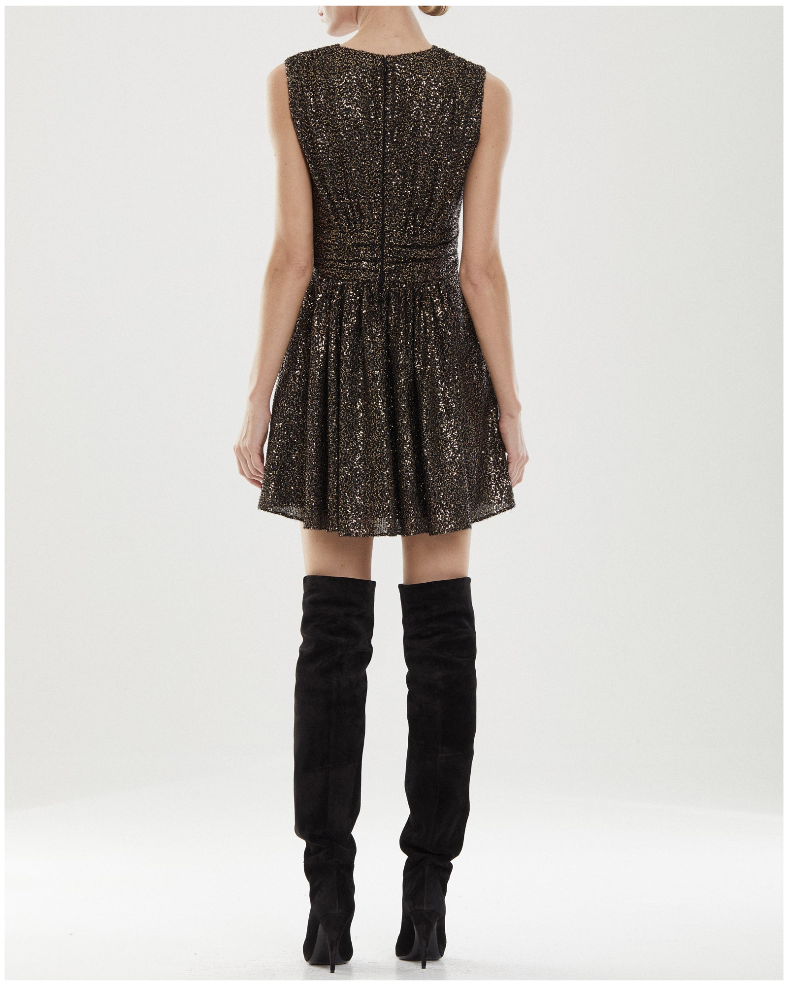 Ali Texture Sequin Dress