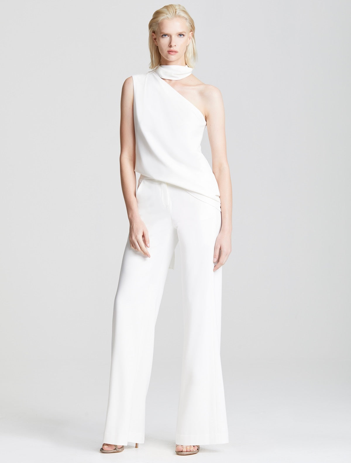Back Pleat Pant - Halston