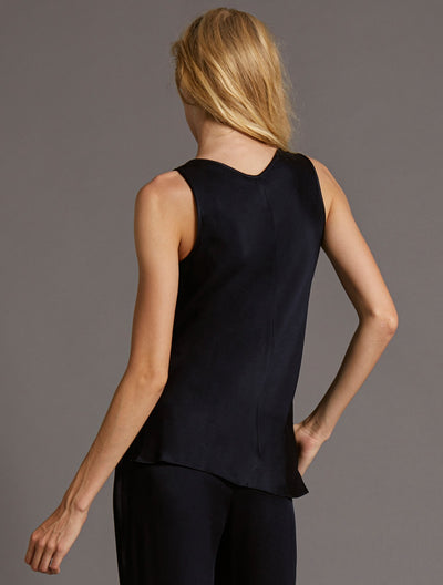 COWL NECK TOP - Halston