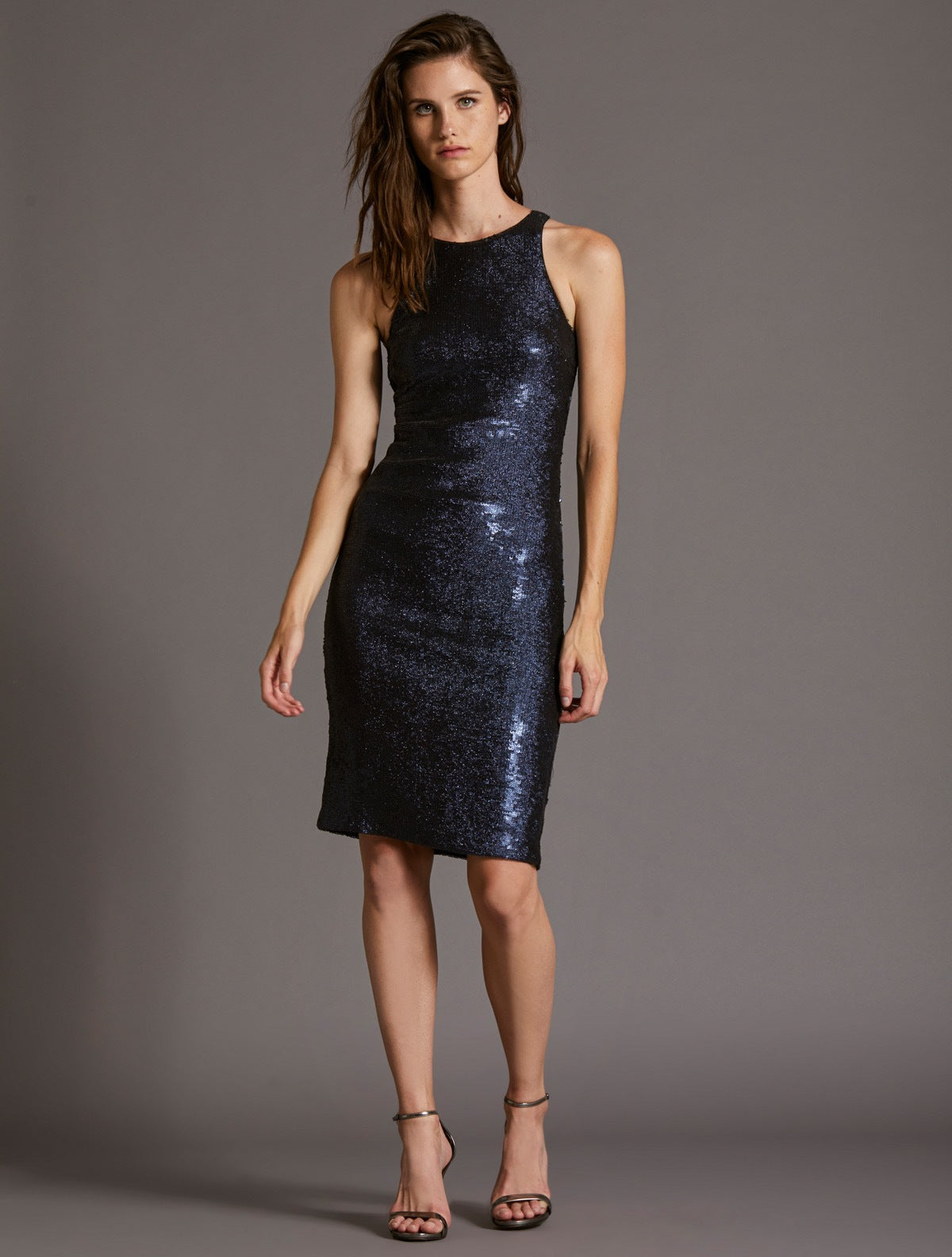 SEQUIN DRESS - Halston