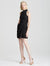 Mock Neck Drape Front Dress - Halston