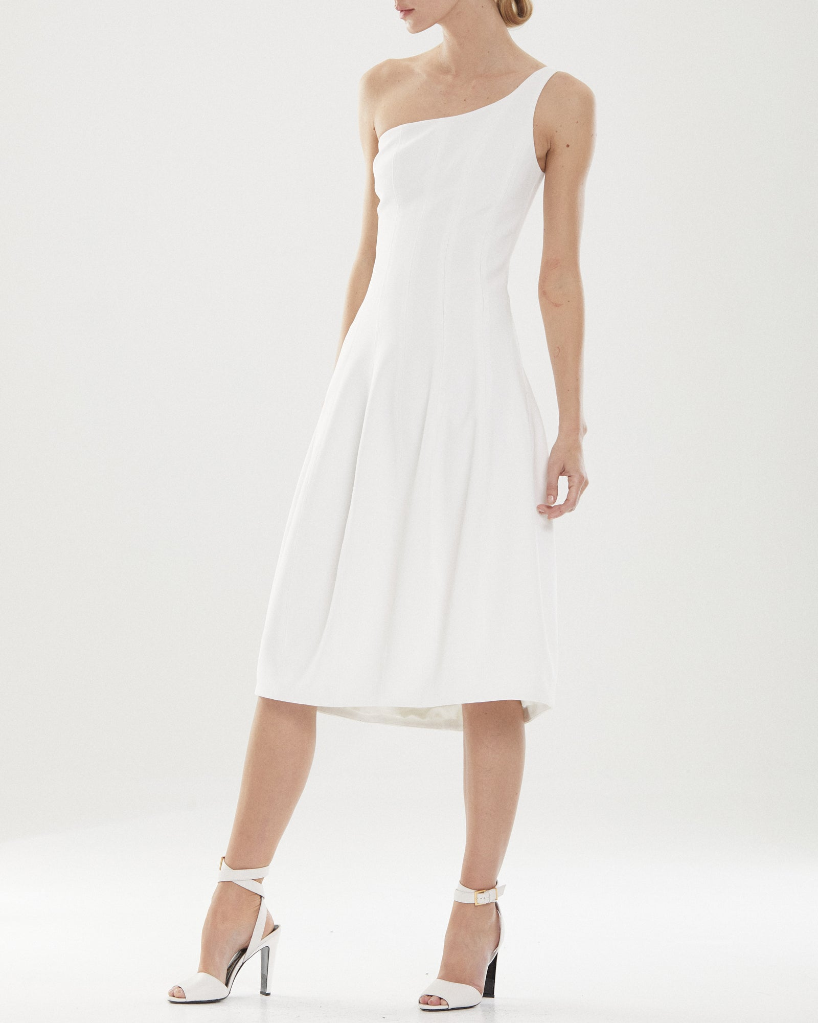 Galen Panelled Structured Dress
