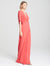 Draped Jersey Gown - Halston