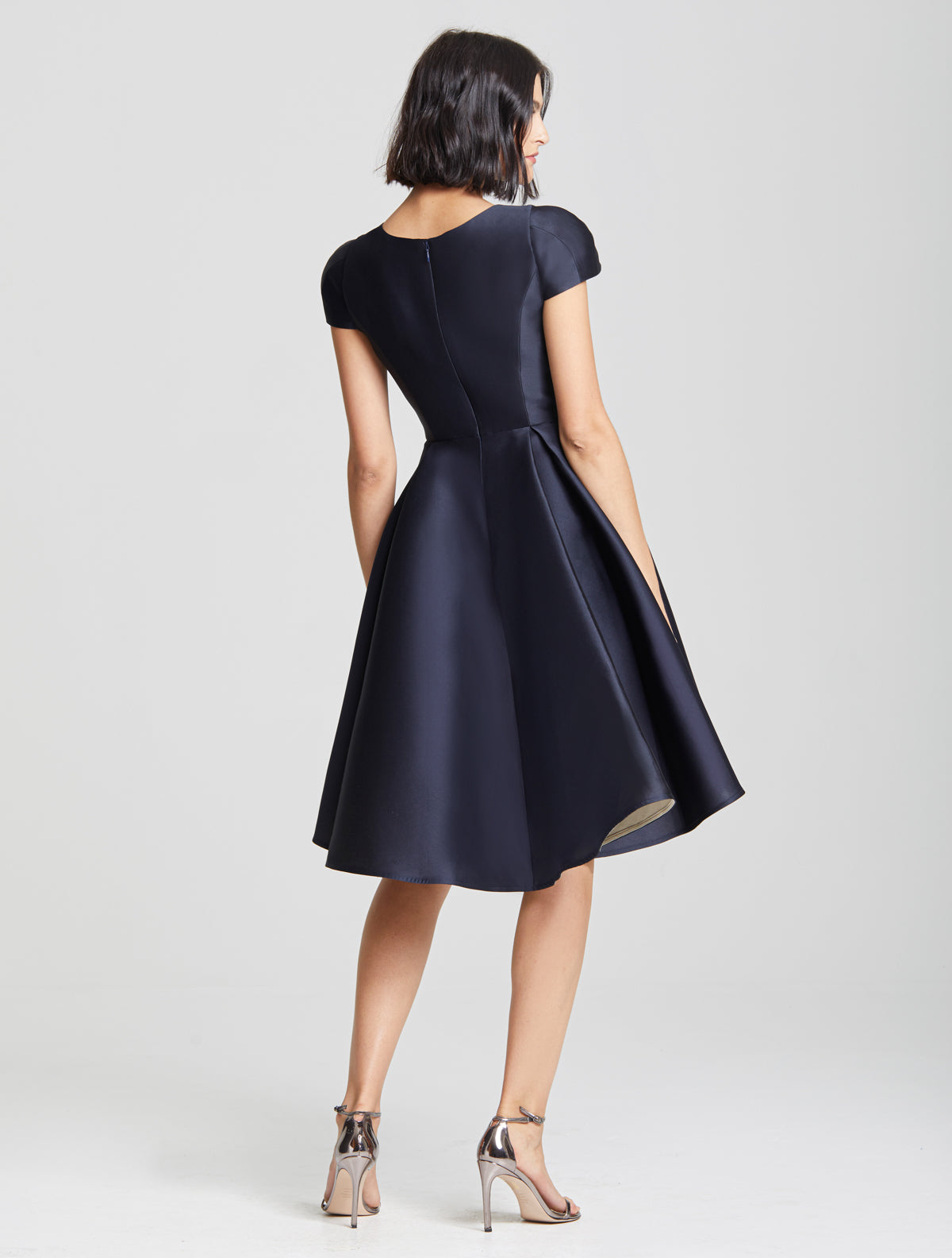 Dramatic Skirt Dress - Halston