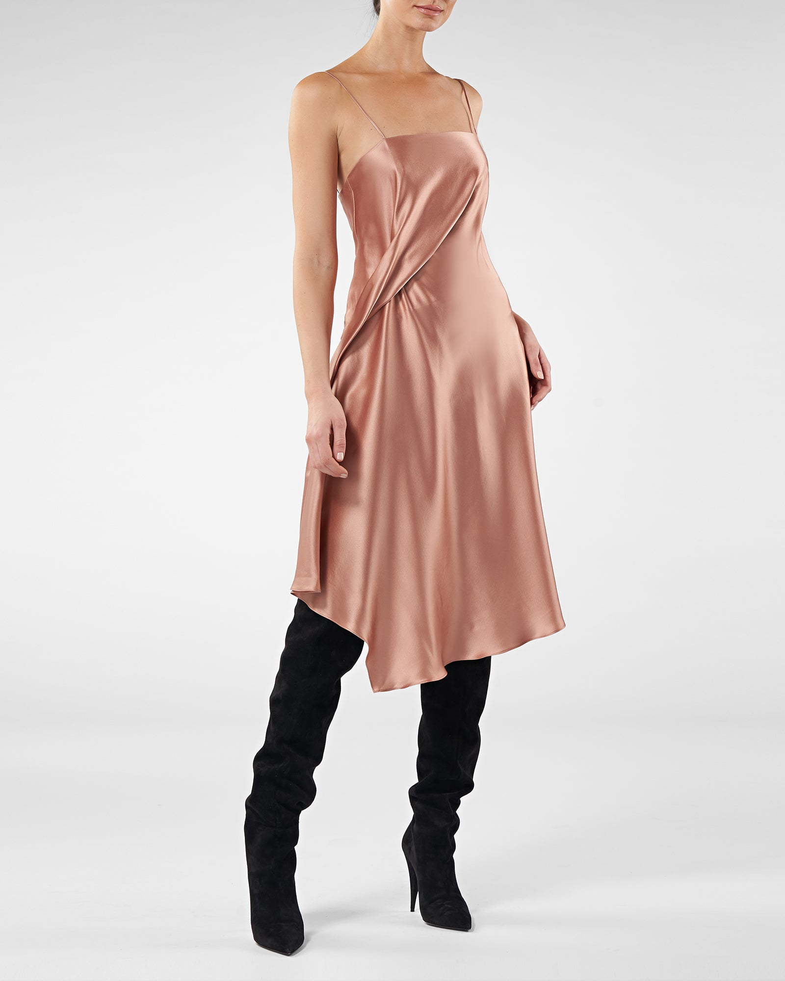 Kaia Silk Slip Dress