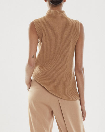 Devin Mock Rib Sweater