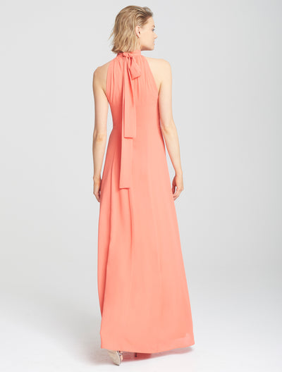 Mock Neck Gown - Halston