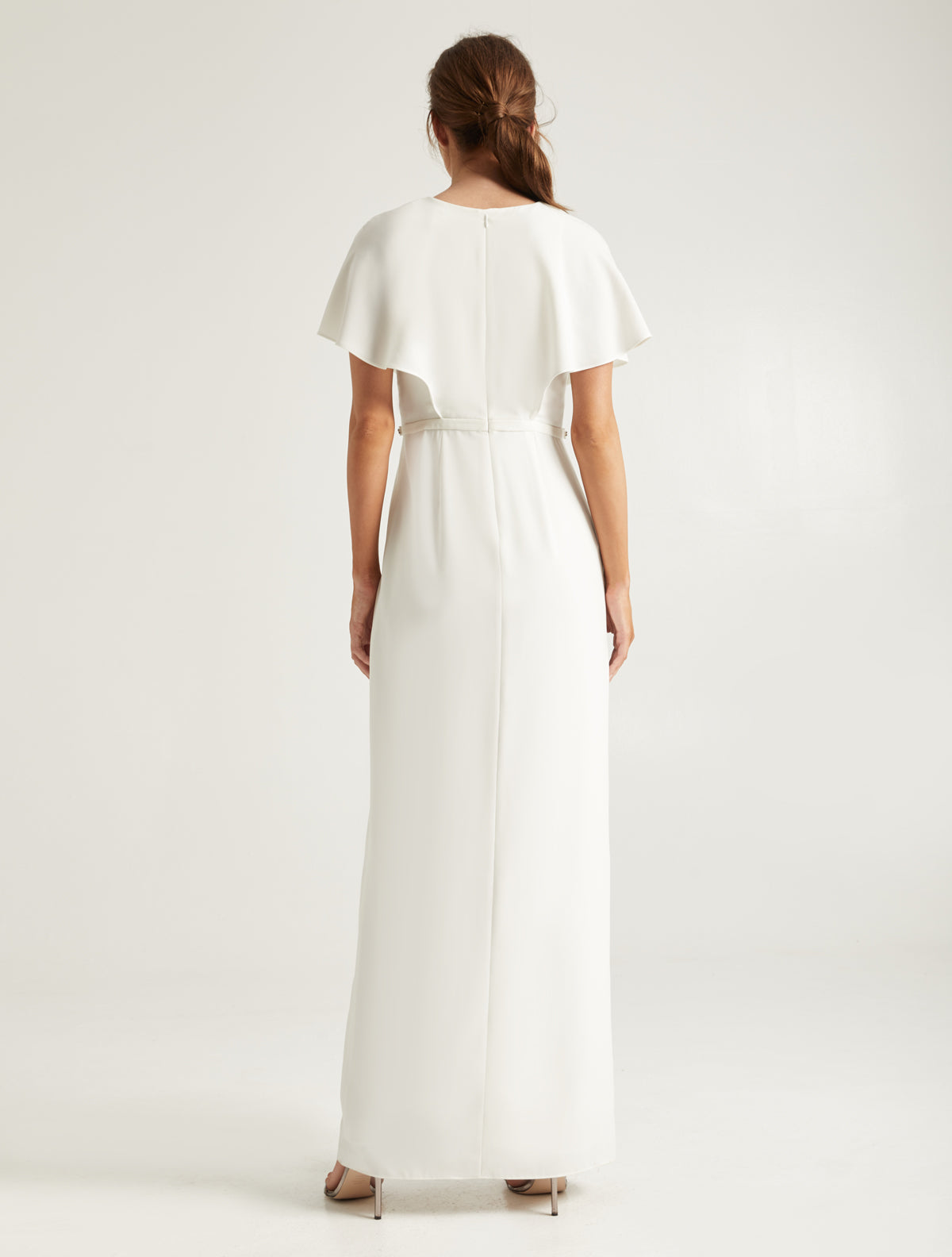 Embellished Insert Gown - Halston