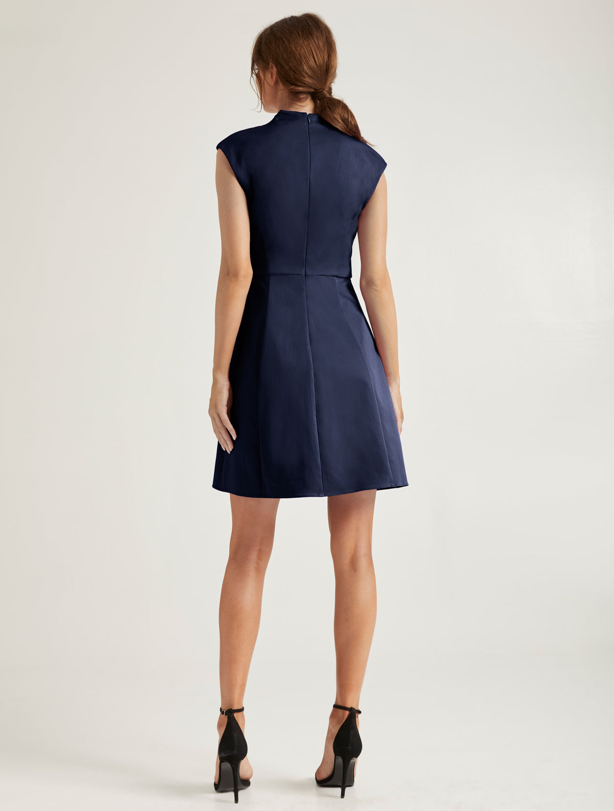 Organic Notch Dress - Halston