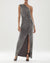 Helen Metallic Knit Gown