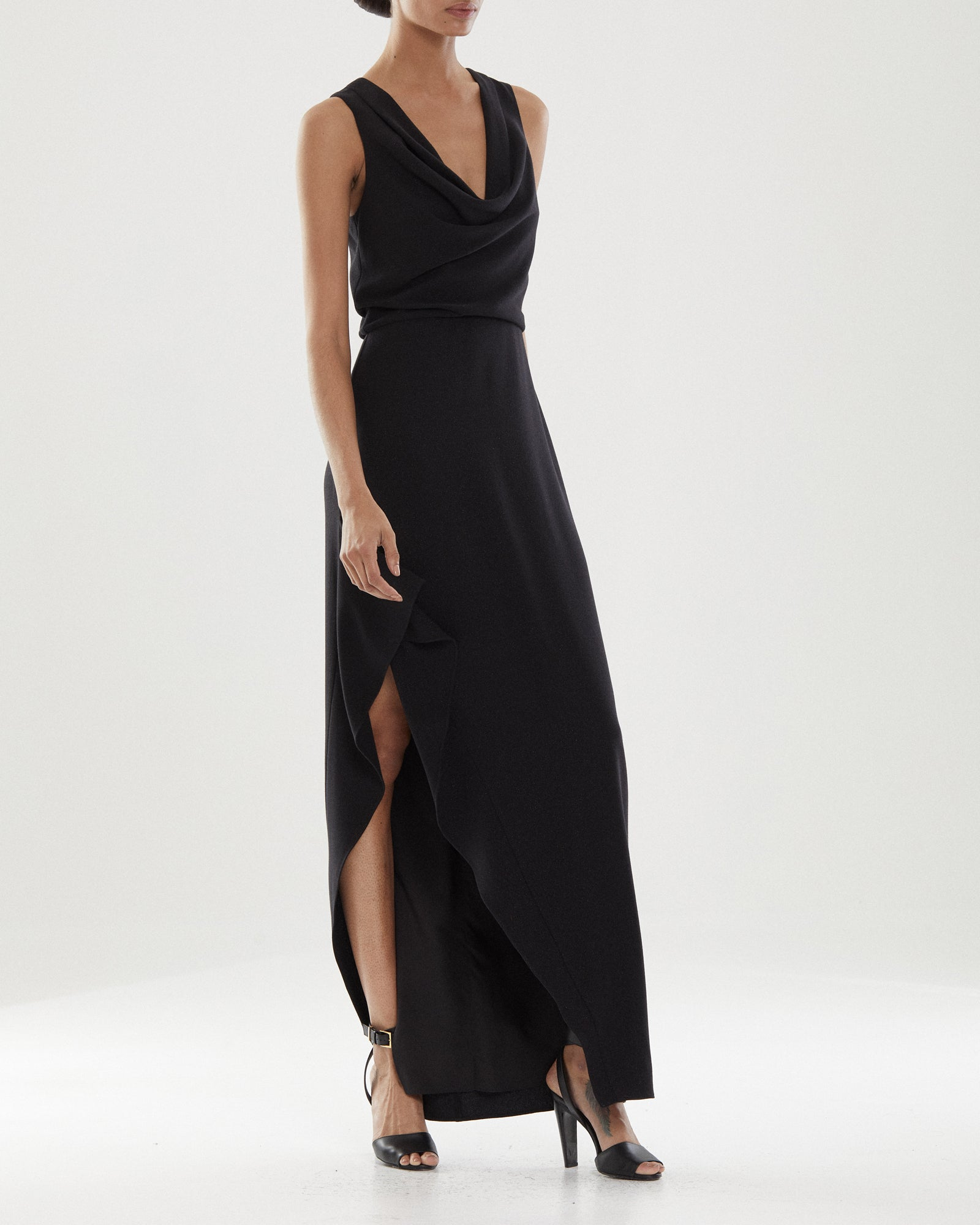 Effie Cowl Neck Gown