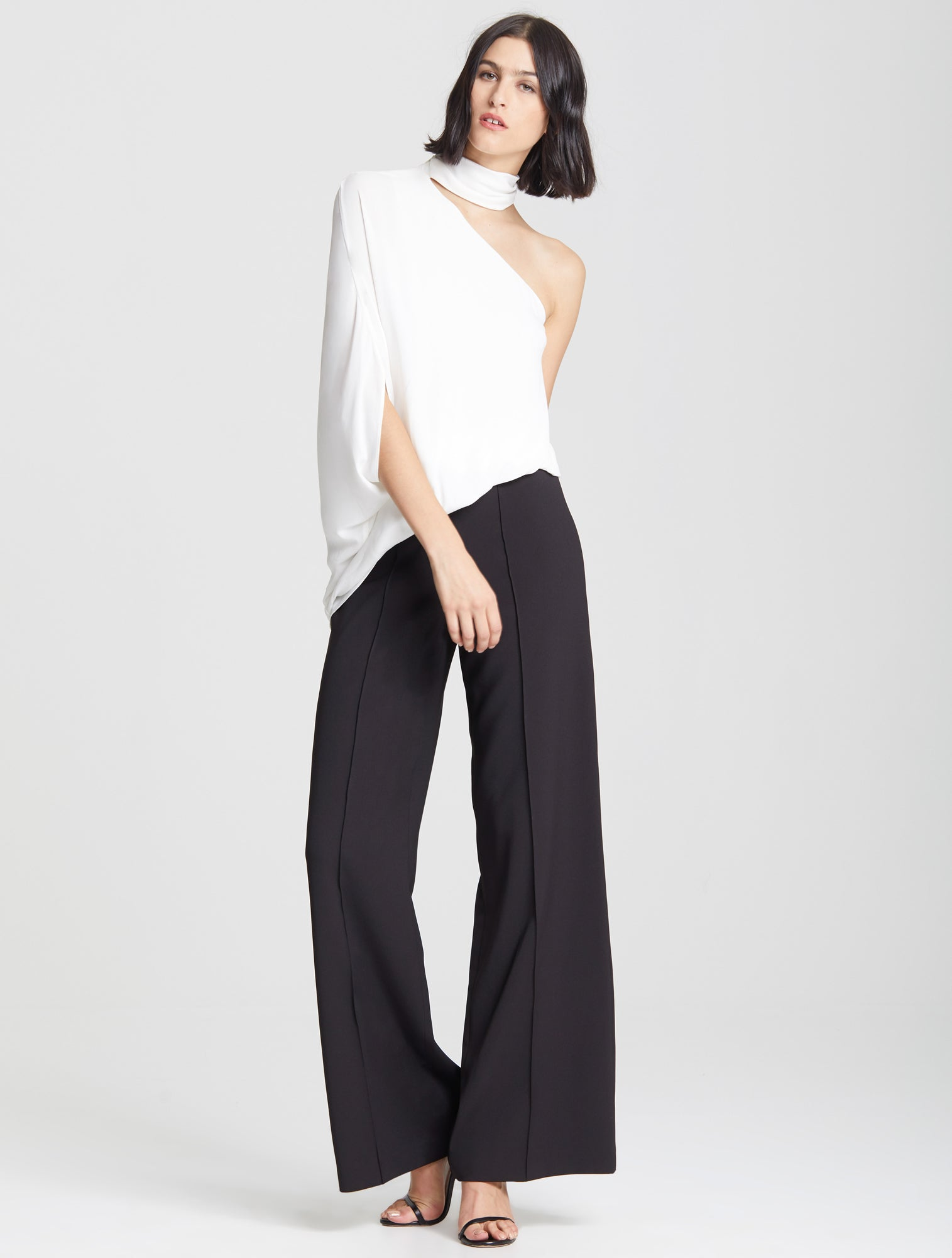 One Shoulder Top - Halston