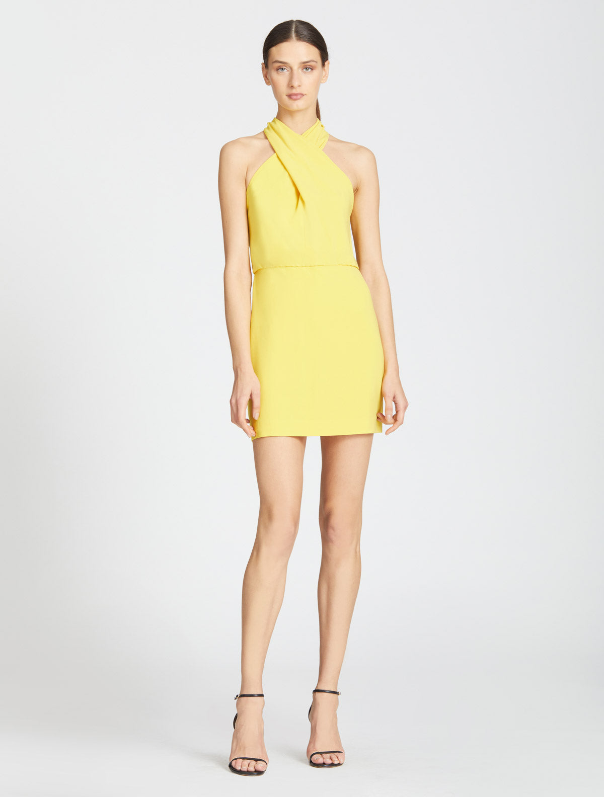 Alix Cross Neck Dress