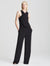 Wrap Neck Jumpsuit - Halston