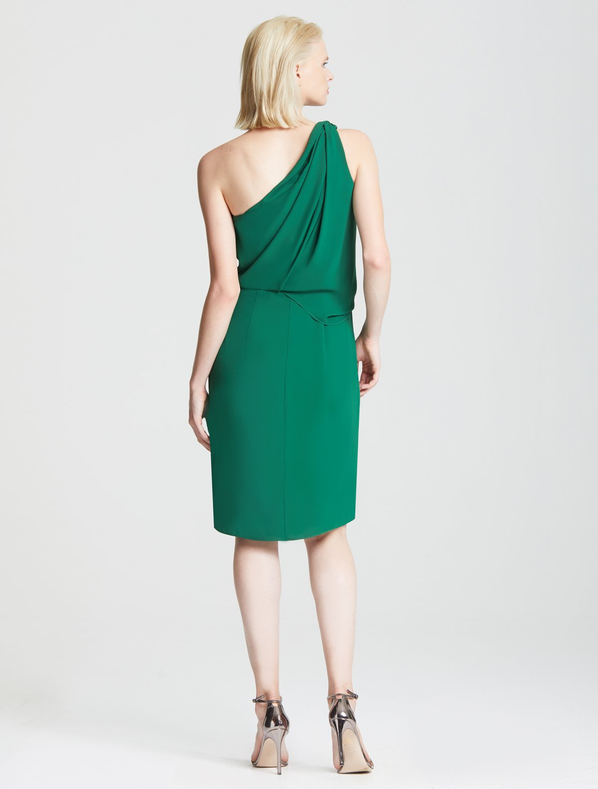 Braided Strap Dress - Halston