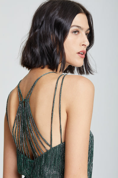 Braided Waist Gown - Halston