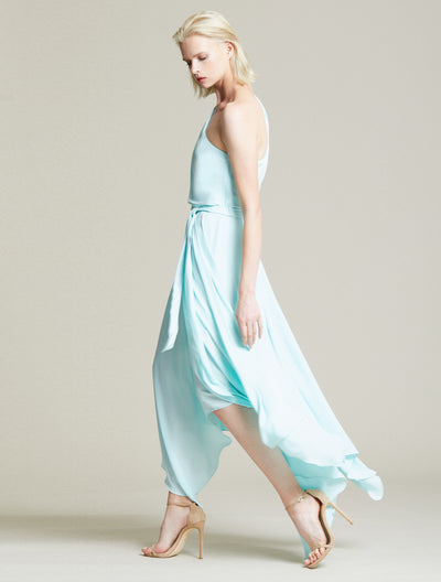 Braided Strap Gown - Halston