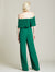 Pleated Jumpsuit - Halston