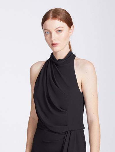 Drape Neck Cocktail