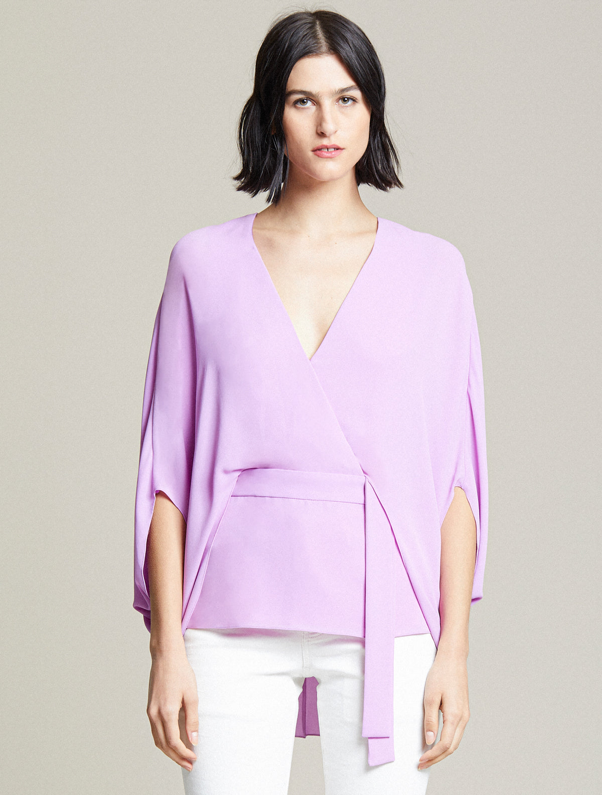 Drape Sleeve Top - Halston