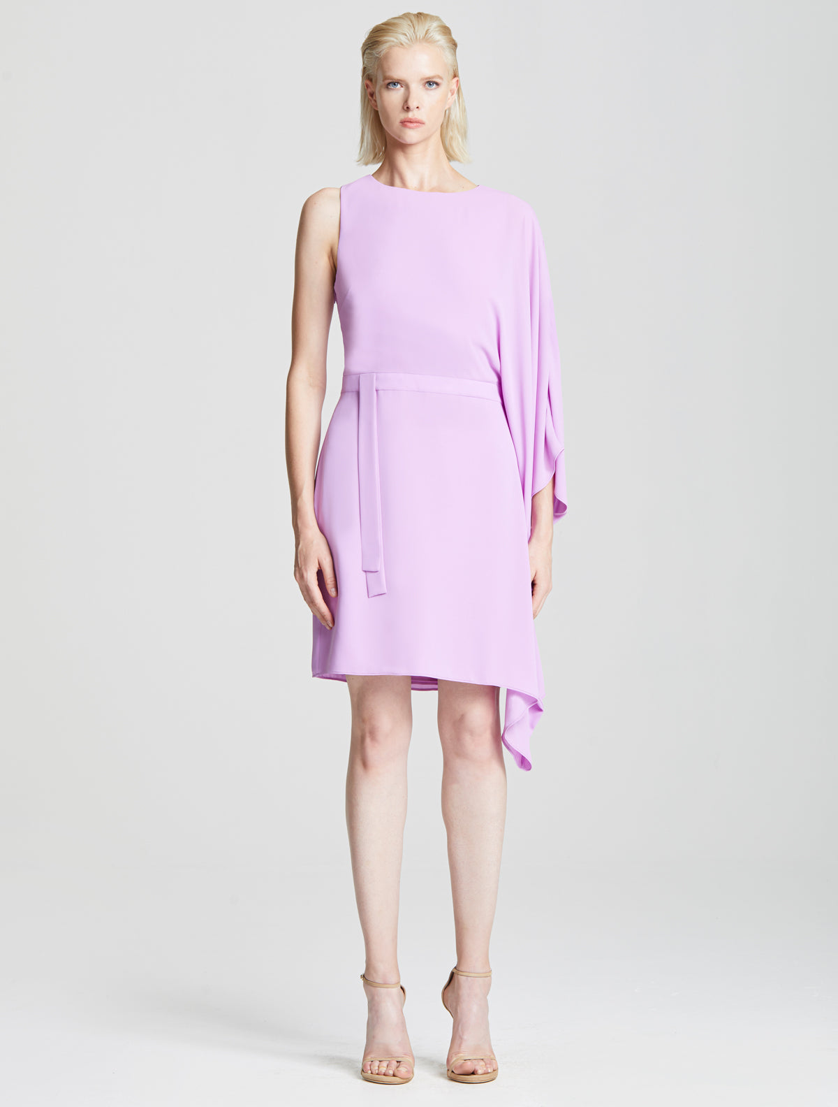 Flow Sleeve Dress - Halston