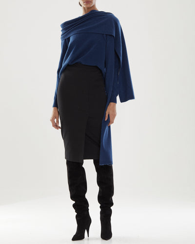 Monica Wrap Sweater