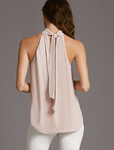 Mock Neck Top - Halston
